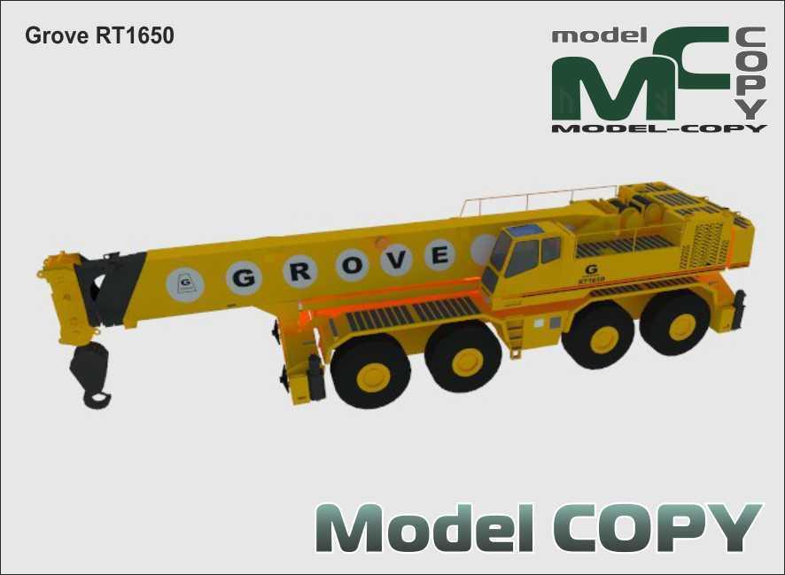 Grove RT1650 - 3D Model