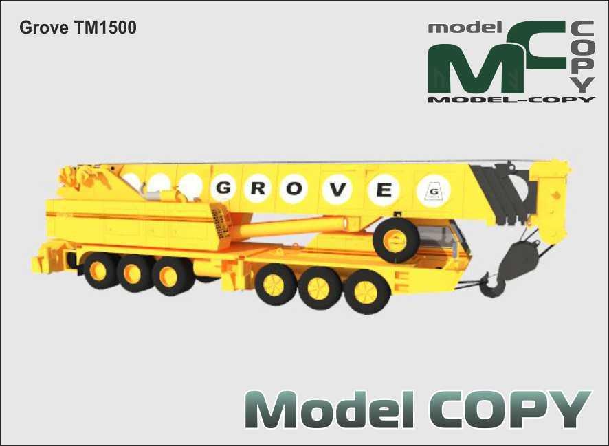 Grove TM1500 - 3D Model
