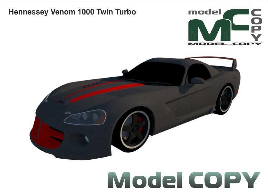 Hennessey Venom 1000 Twin Turbo - 3D Model