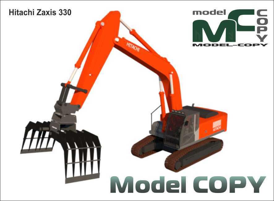 Hitachi Zaxis 330 - 3D Model