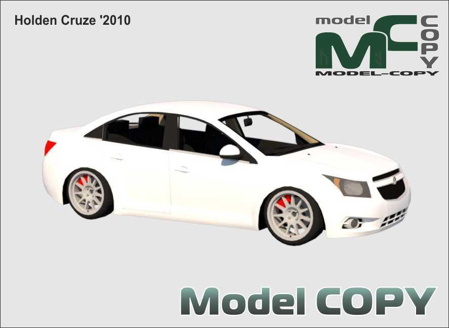 Holden Cruze '2010 - 3D Model