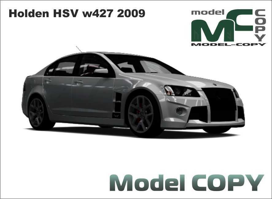 Holden HSV w427 2009 - 3D Model