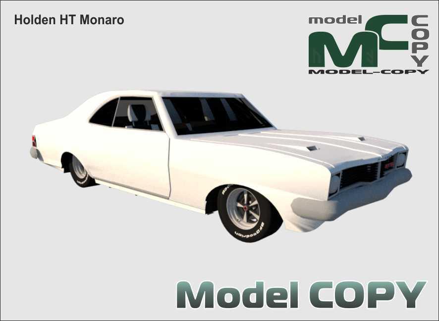 Holden HT Monaro - 3D Model