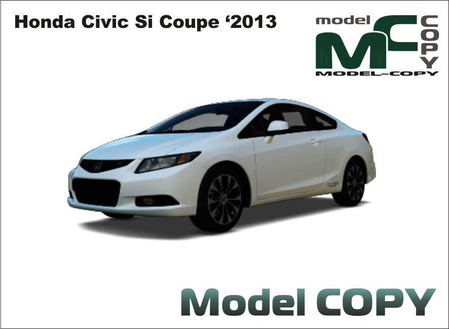 Honda Civic Si Coupe U00272013   Modelo 3D