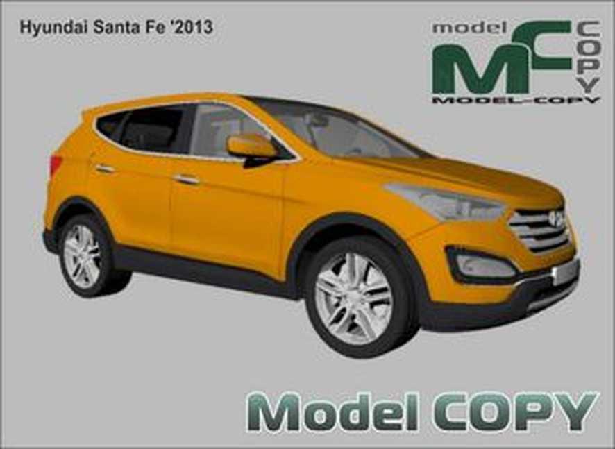 Hyundai Santa Fe '2013 - 3D Model