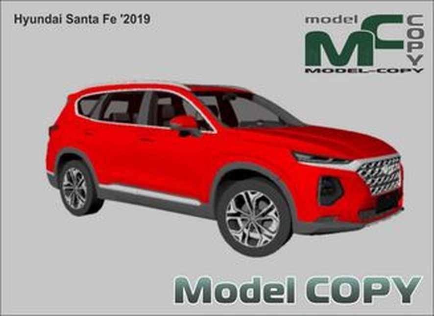 Hyundai Santa Fe '2019 - 3D-модель