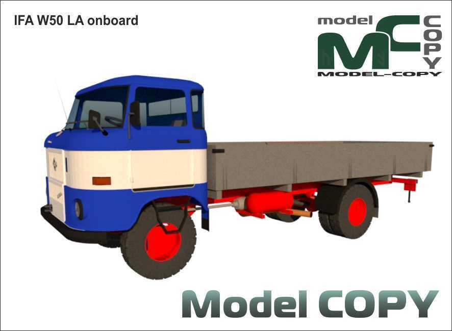 IFA W50 LA onboard - 3D Model