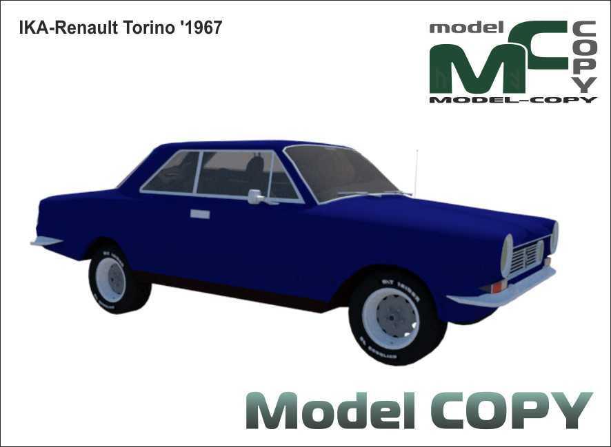 IKA-Renault Torino '1967 - 3D Model