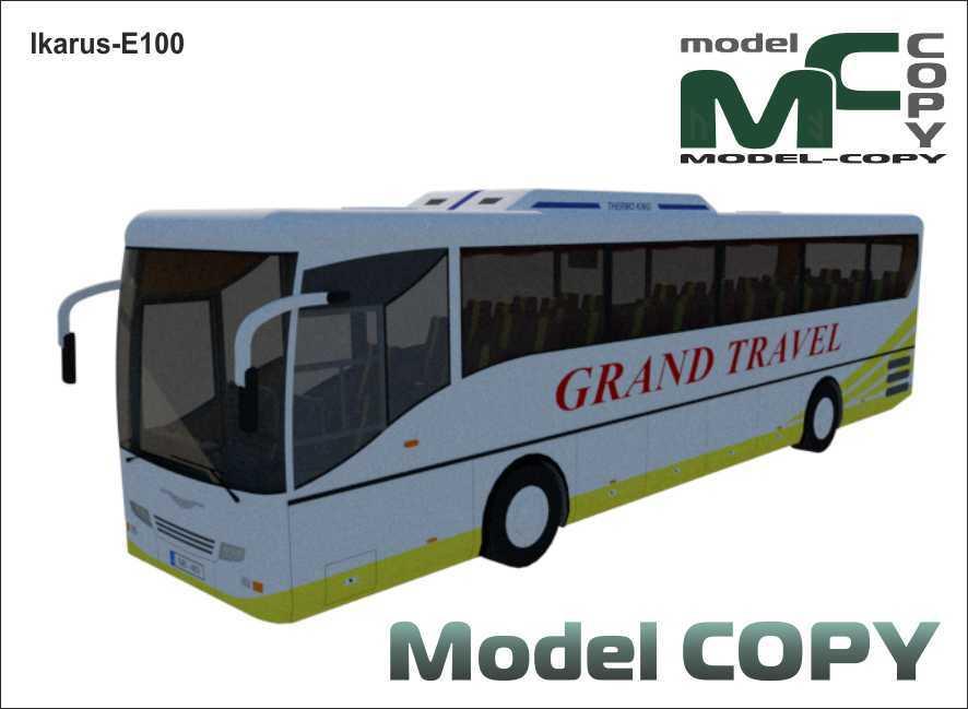 Ikarus-E100 - 3D Model
