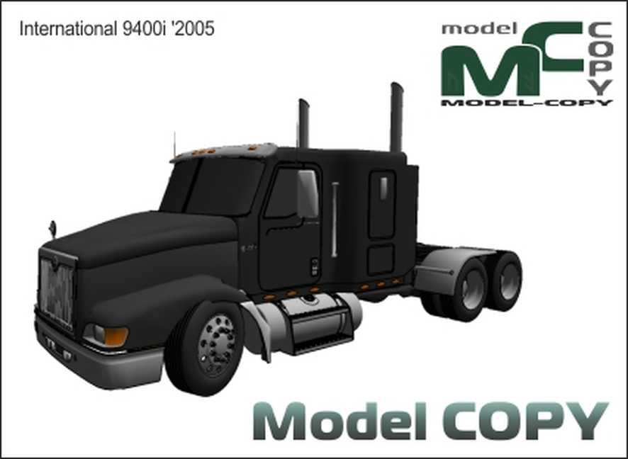 International 9400i '2005 - Model 3D