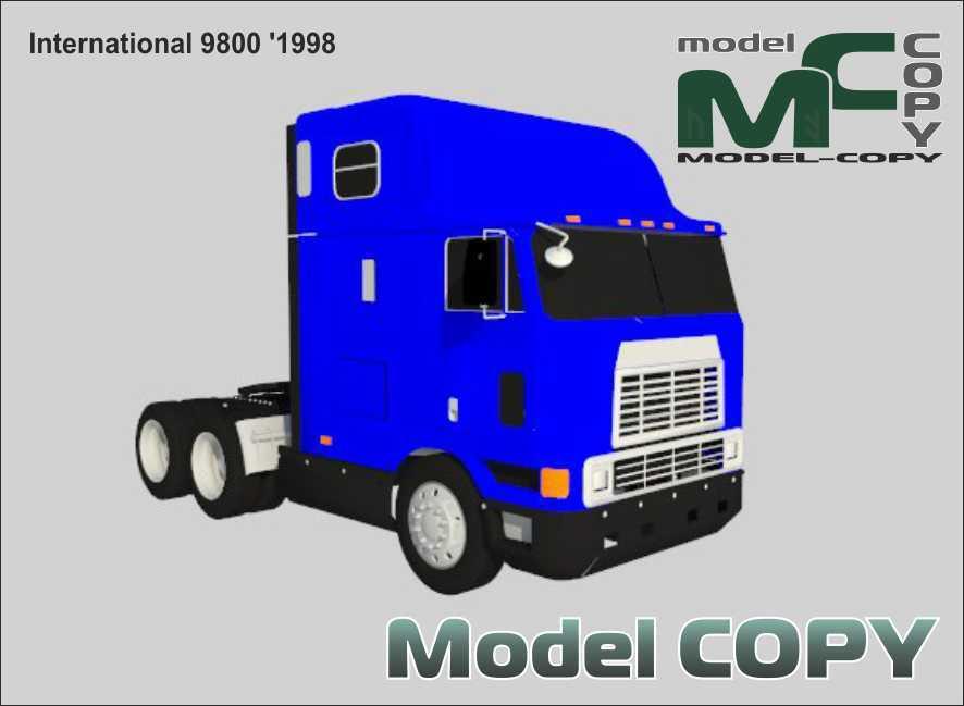 International 9800 '1998 - 3D Model