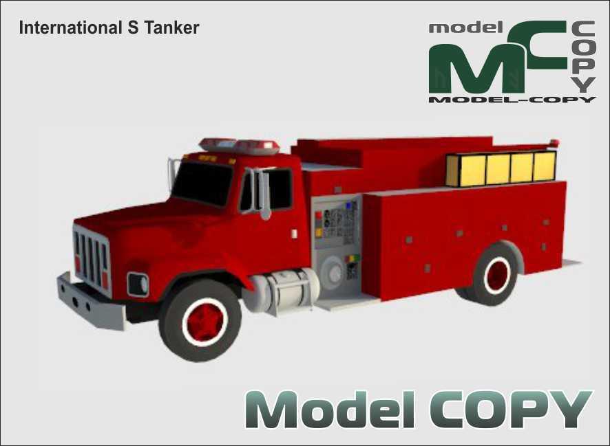 International S Tanker - 3D Model