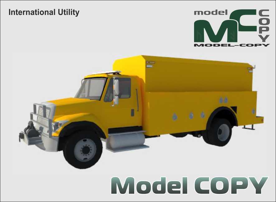International Utility - 3D Model