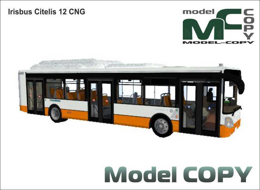 Irisbus Citelis 12 CNG - 3D Model