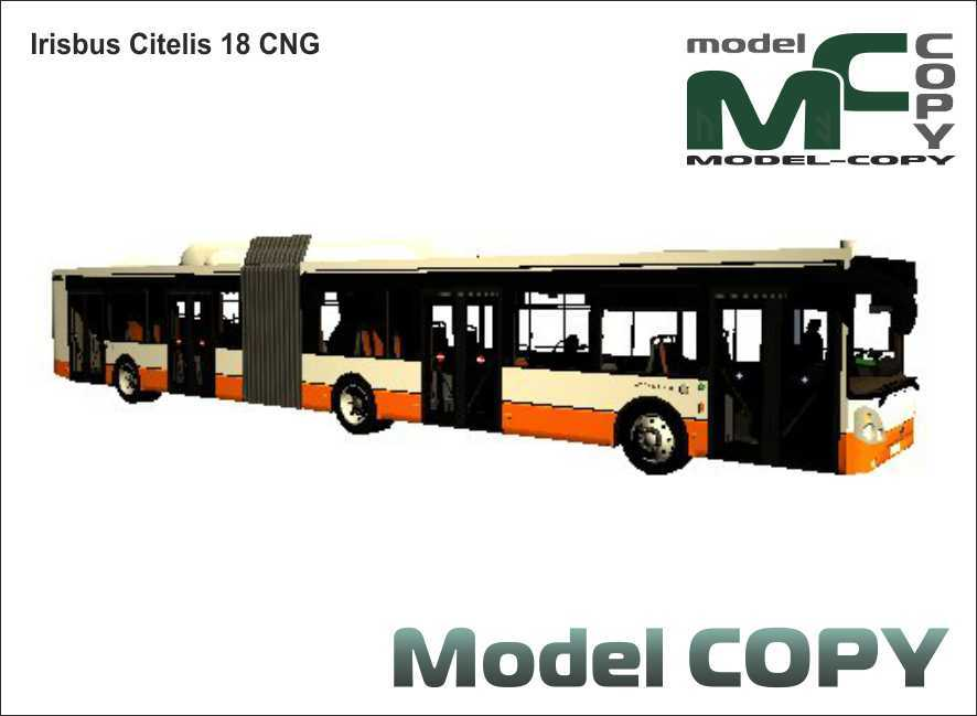 Irisbus Citelis 18 CNG - 3D Model