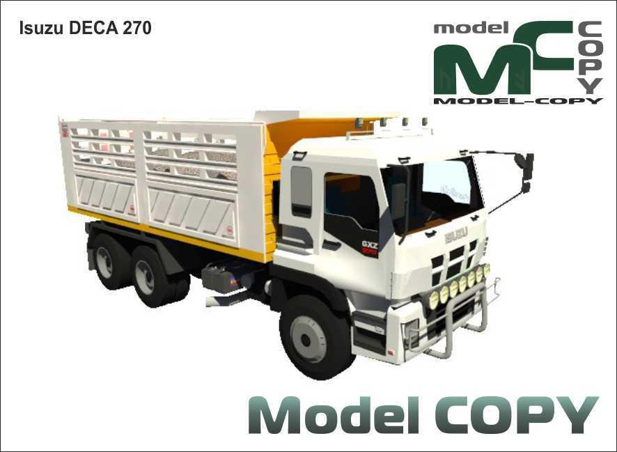 Isuzu DECA 270 - 3D Model