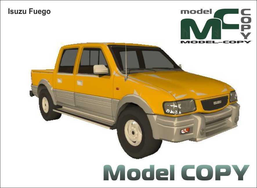 Isuzu Fuego - 3D Model