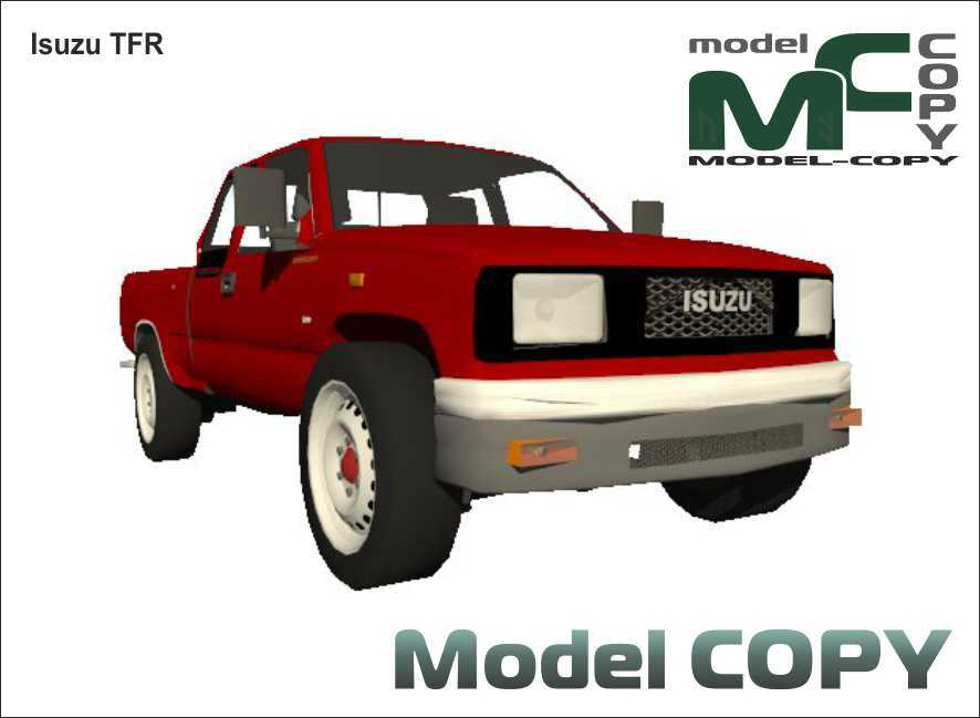 Isuzu TFR - 3D Model