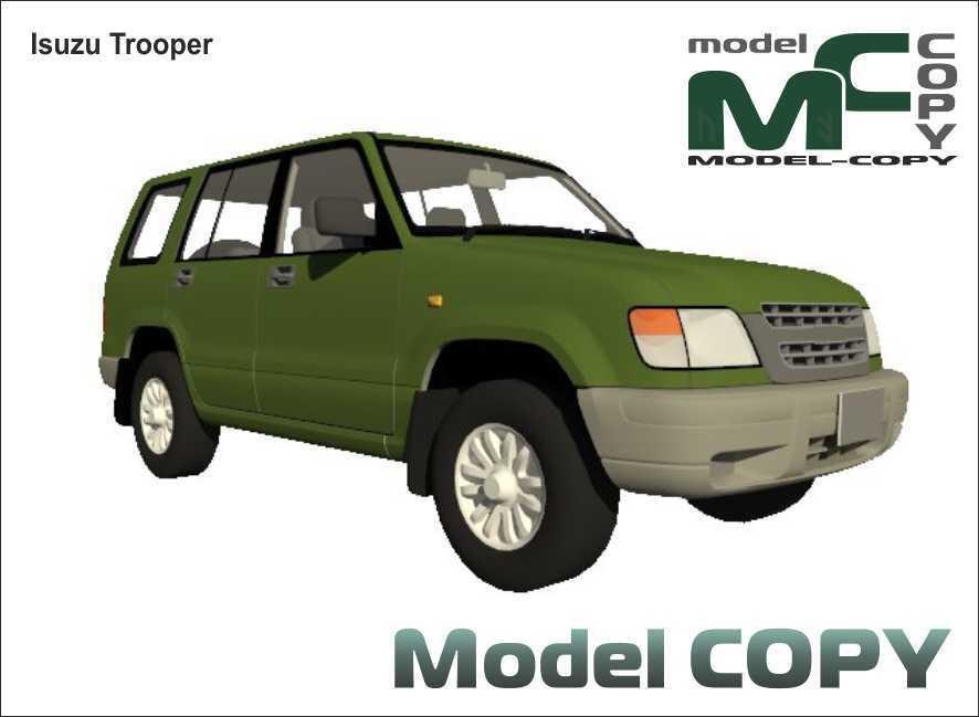 Isuzu Trooper - 3D Model