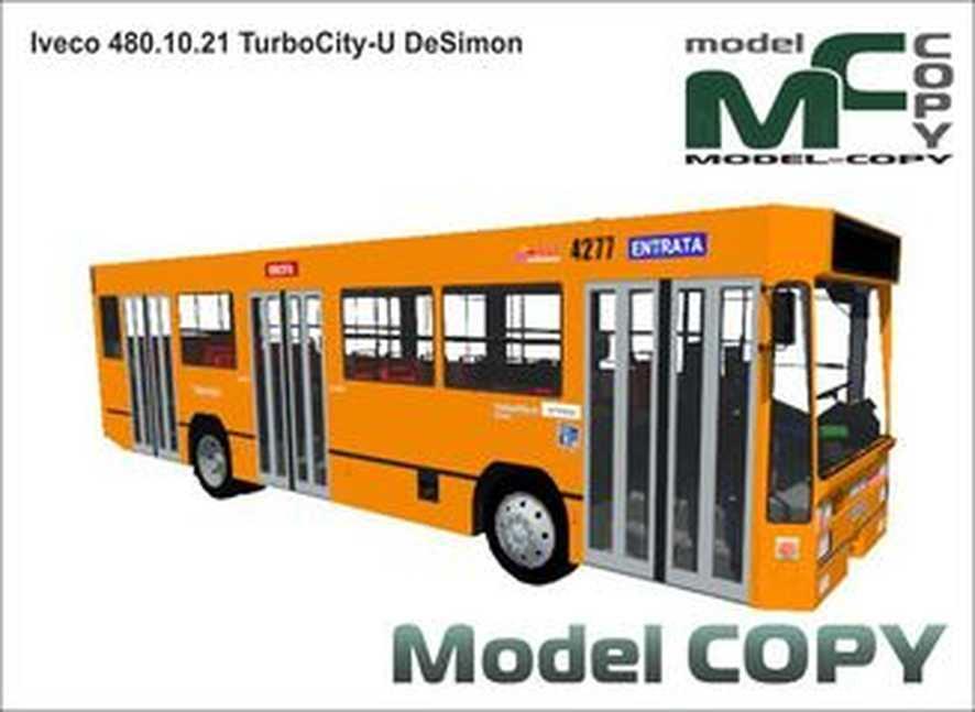 Iveco 480.10.21 TurboCity-U DeSimon - 3D Model