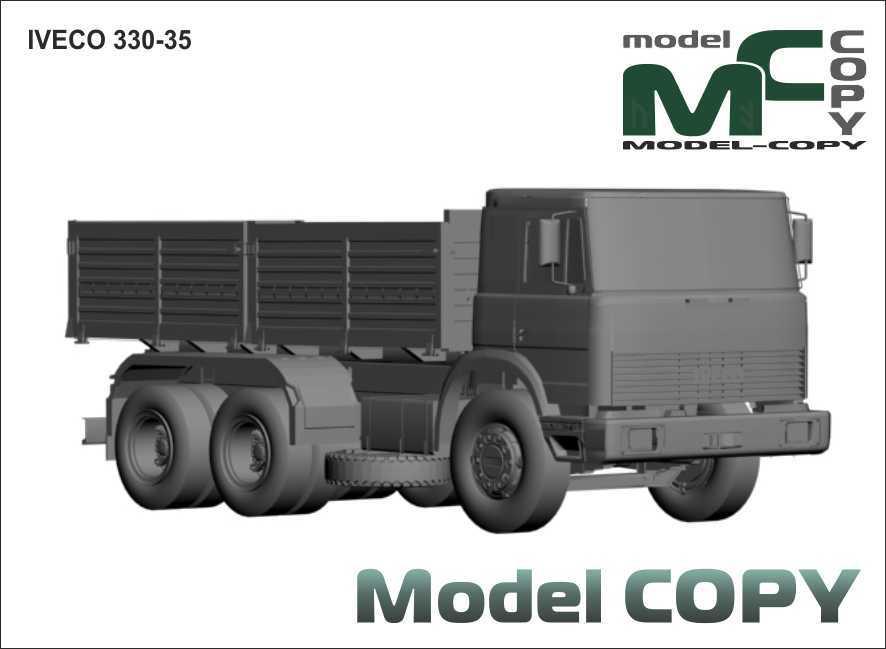 Iveco 330.35 - 3D Model