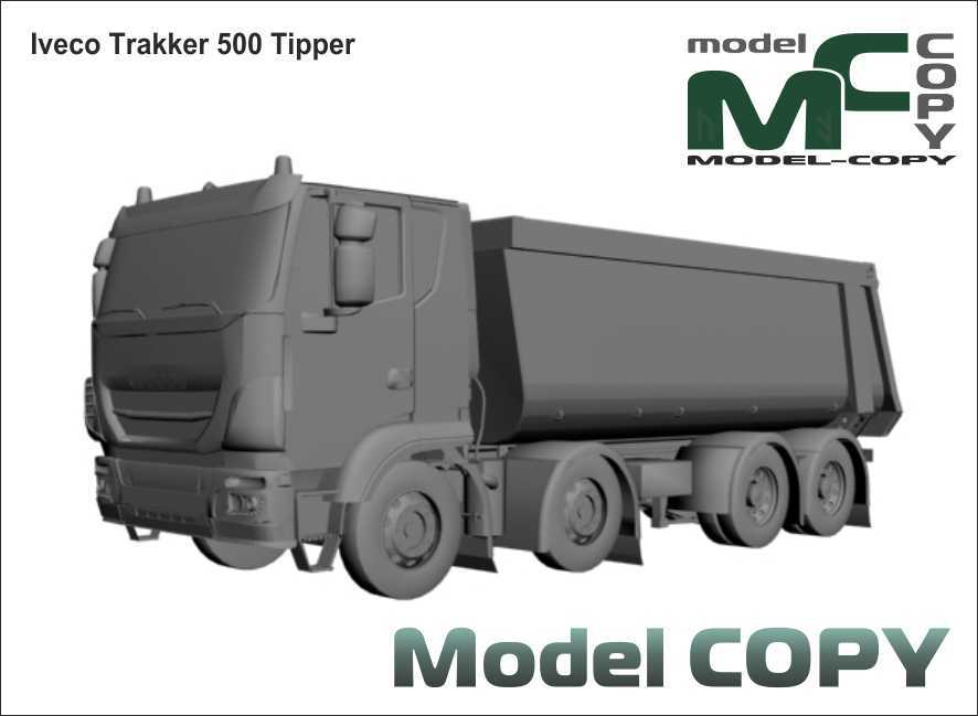 Iveco Trakker 500 Tipper - 3D Model