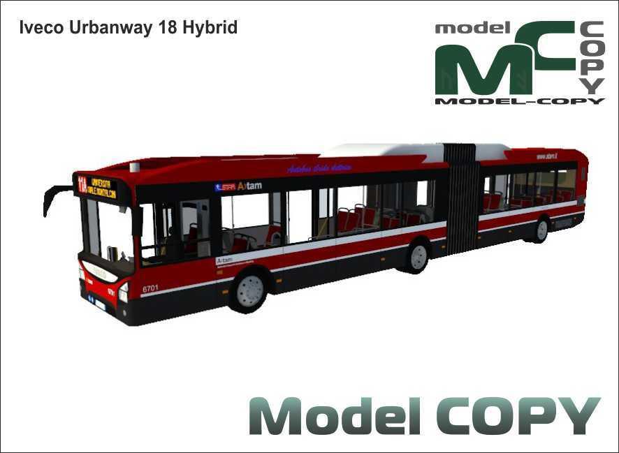 Iveco Urbanway 18 Hybrid - 3D Model