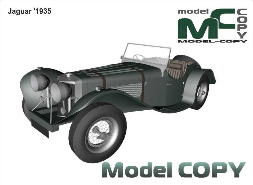 Jaguar '1935 - 3D Model