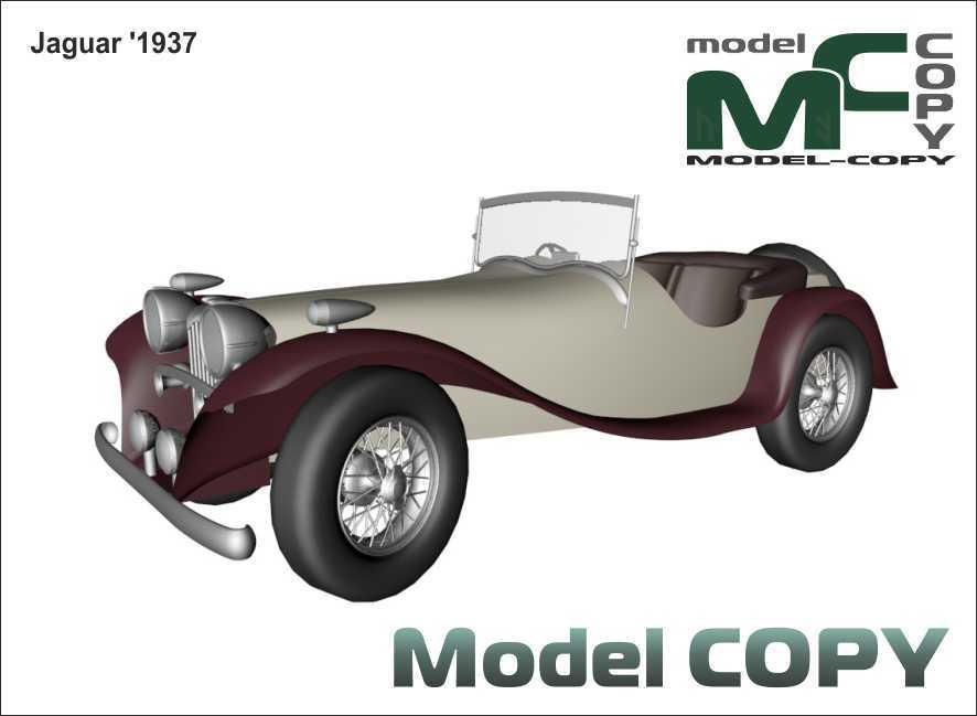 Jaguar '1937 - 3D Model