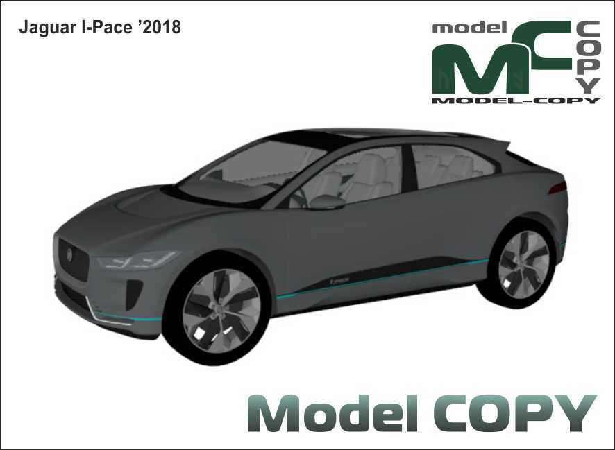 Jaguar I-Pace '2018 - 3D Model
