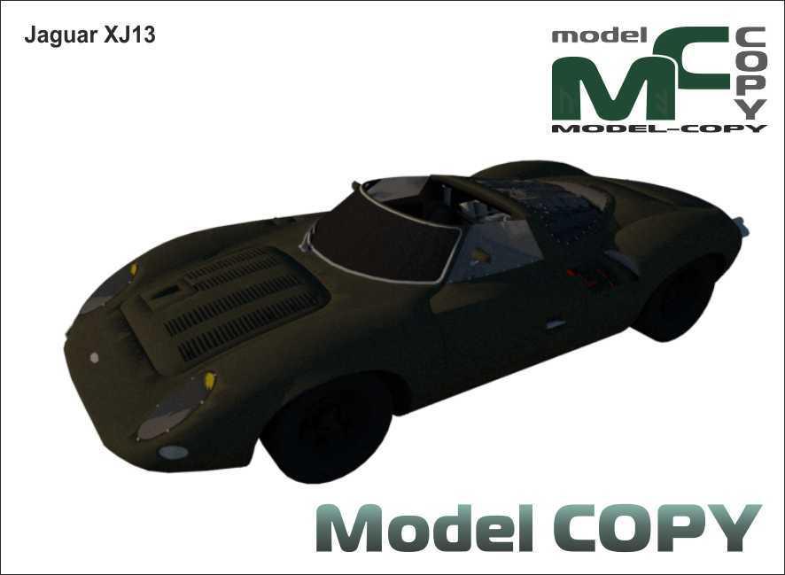 Jaguar XJ13 - 3D Model