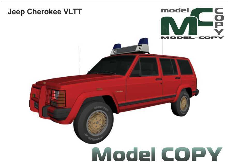Jeep Cherokee VLTT - 3D Model