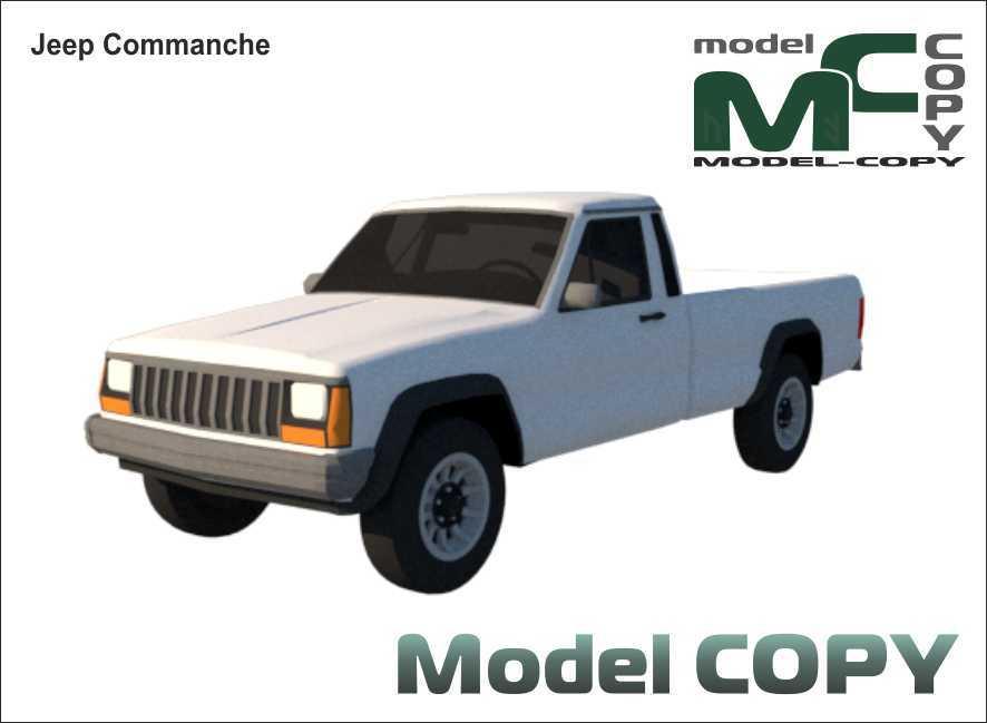 Jeep Commanche - 3D Model