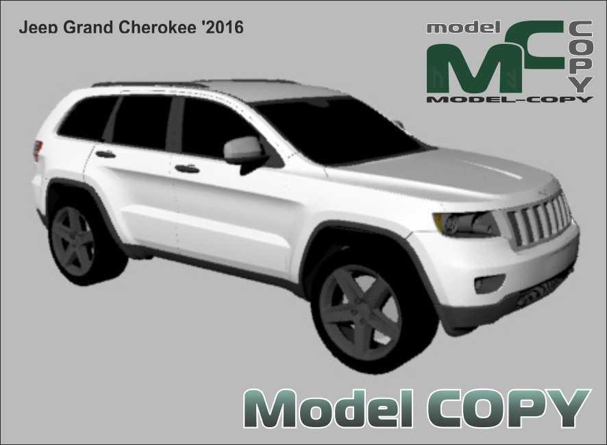Jeep Grand Cherokee '2016 - 3Dモデル