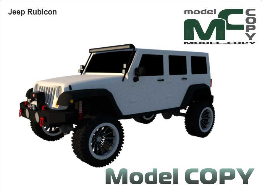 Jeep Rubicon - 3D Model