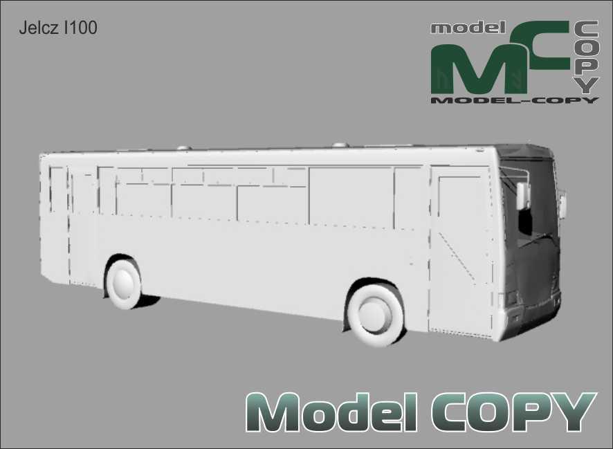 Jelcz I100 - 3D Model