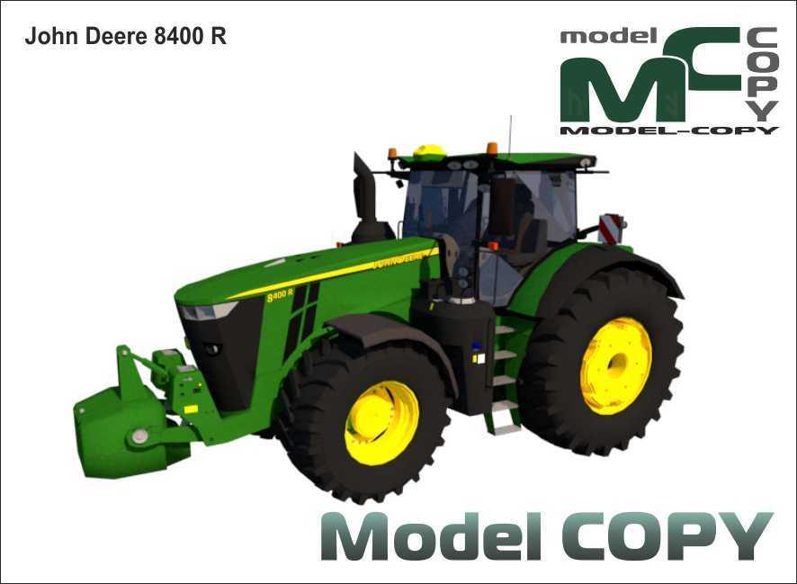 John Deere 8400 R - 3D Model