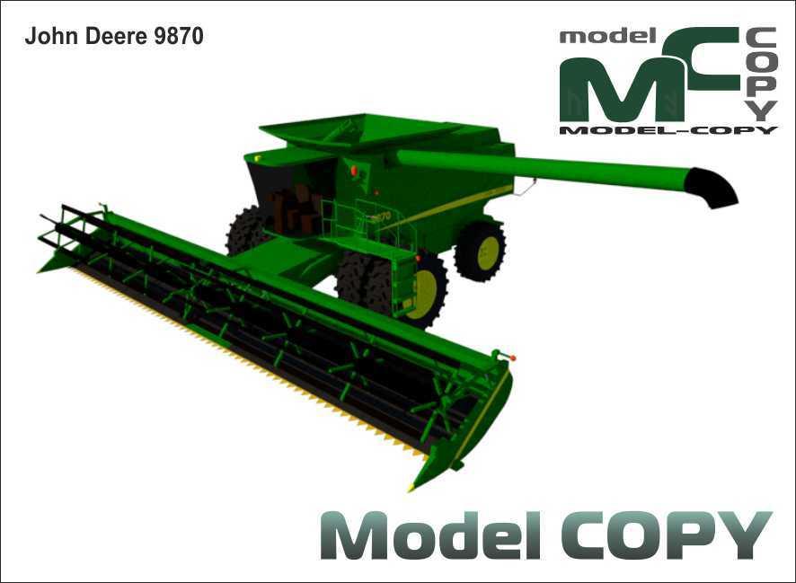 John Deere 9870 - 3D Model