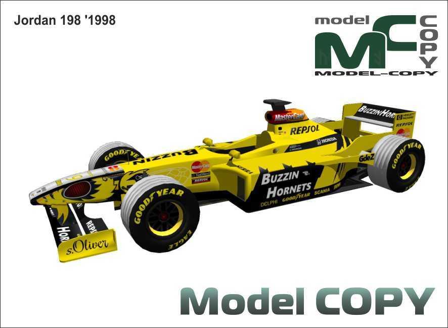 Jordan 198 '1998 - 3D Model