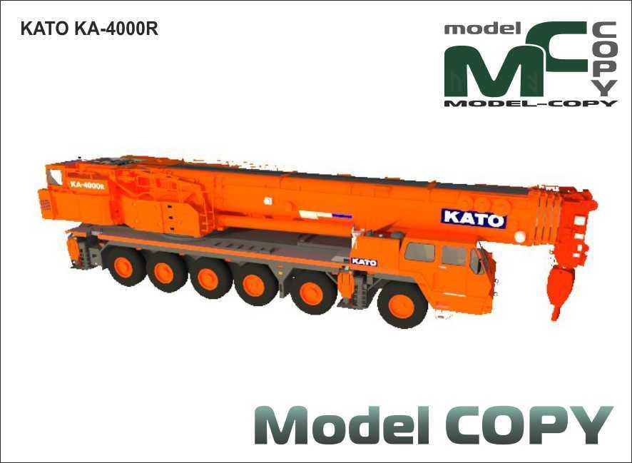 KATO KA-4000R - 3D Model