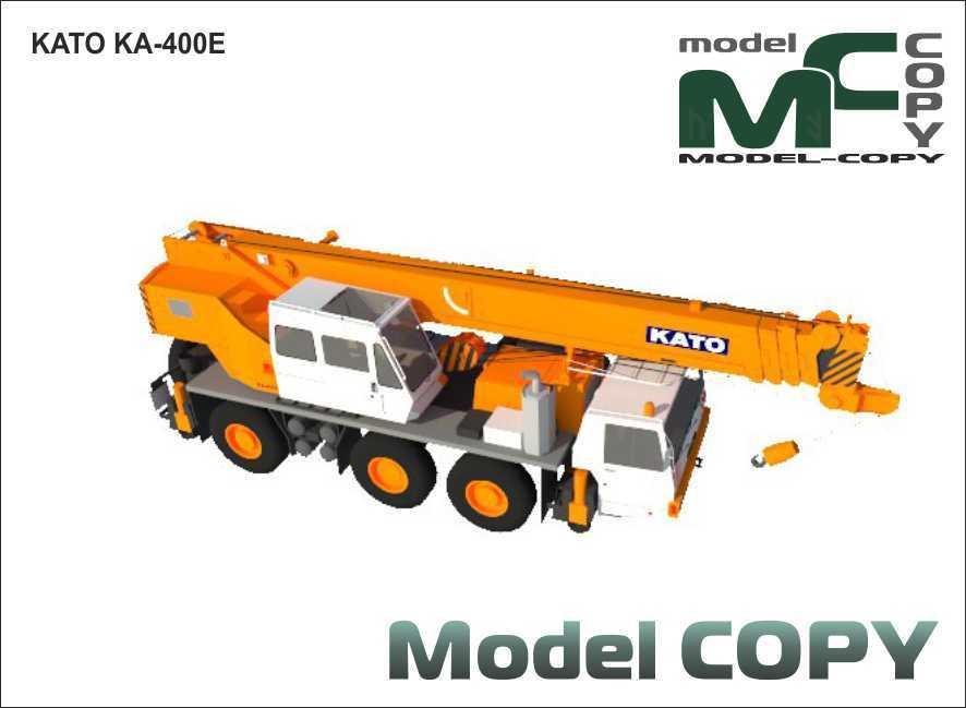 KATO KA-400E - 3D Model