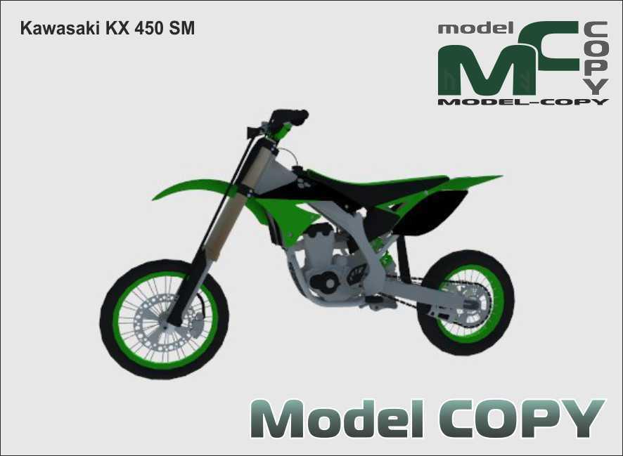 Kawasaki KX 450SM - 3D Model