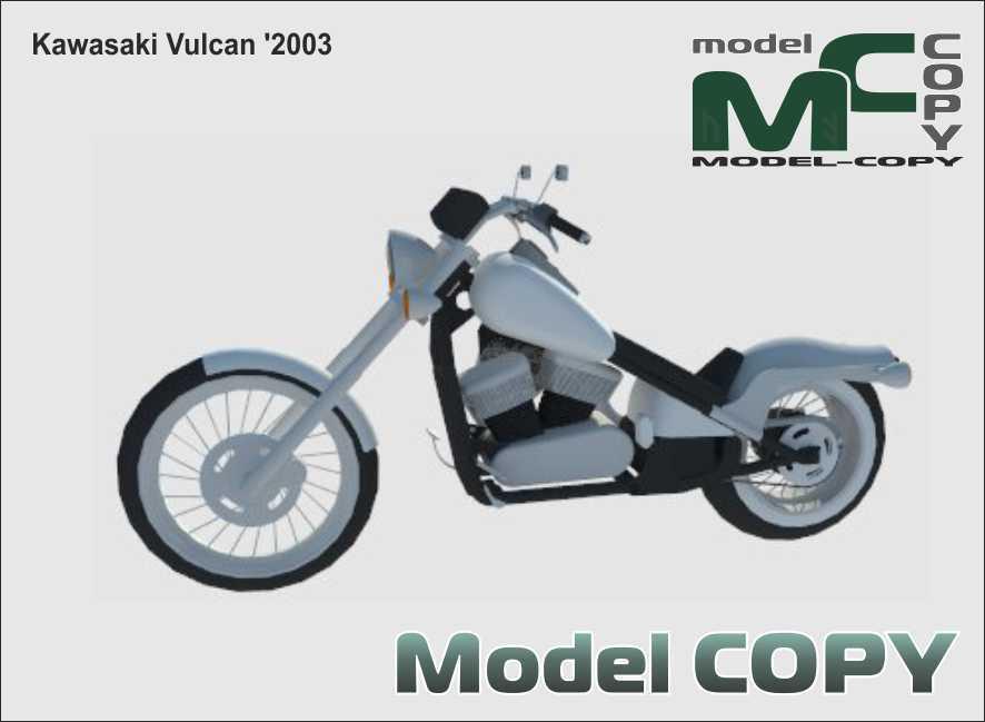 Kawasaki Vulcan '2003 - 3D Model
