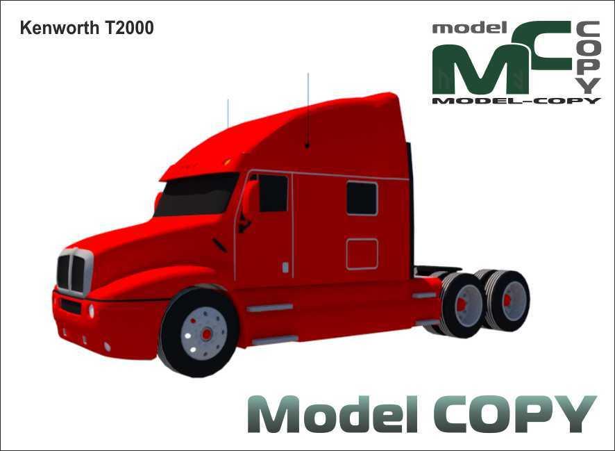 Kenworth T2000 - 3D Model