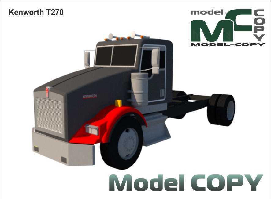 Kenworth T270 - 3D Model