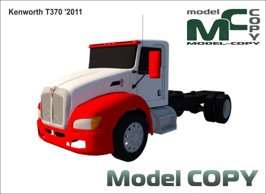 Kenworth T370 '2011 - 3D Model
