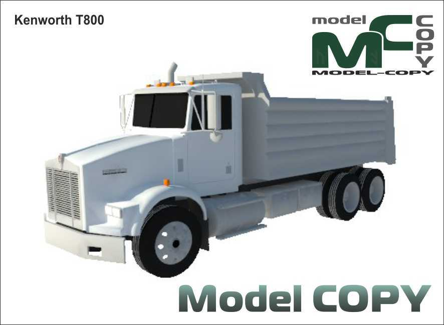 Kenworth T800 - 3D Model