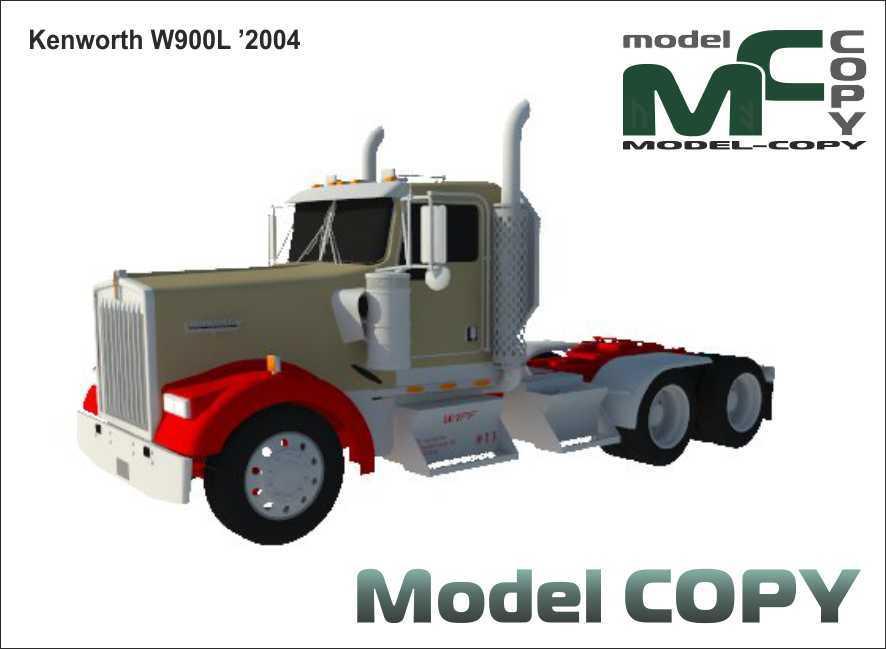 Kenworth W900L '2004 - 3D Model