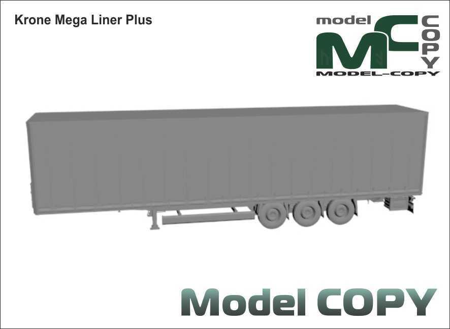 Krone Mega Liner Plus - 3D Model