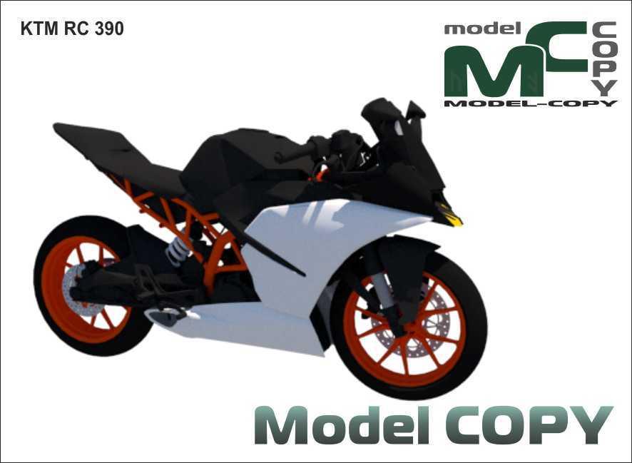 KTM RC 390 - 3D Model